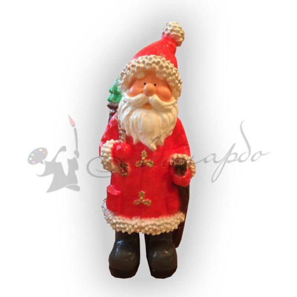 Форма для производства новогодней фигуры Дед мороз с мешком