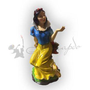 Форма силиконовая для изготовления сказочной фигуры Белоснежка