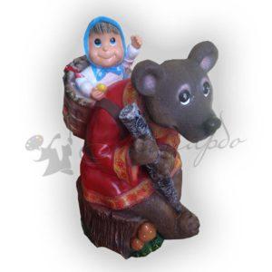 Форма силиконовая по мотивам русских сказок Маша и медведь