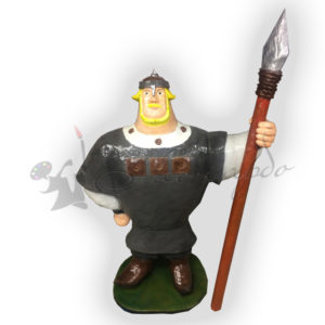 Форма силиконовая для изготовления сказочного персонажа Добрыня Никитич