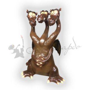 Форма силиконовая для изготовления фигур по мотивам сказок Змей Горыныч