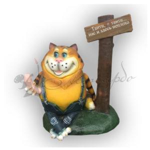 Форма силиконовая для изготовления сказочных персонажей кот Таити