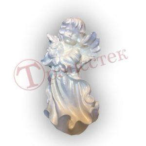 Форма для фигуры ангел с букетом