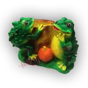 Форма для изготовления зоокашпо две лягушки