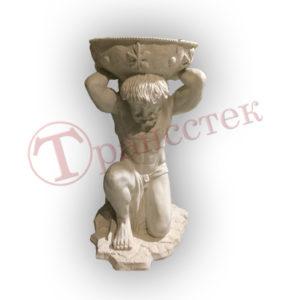 Античная скульптура Титан кашпо