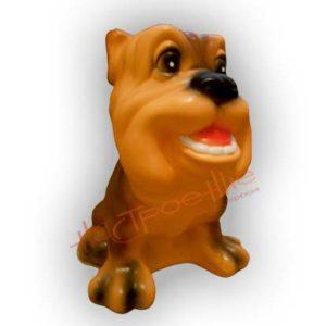 Форма силиконовая для изготовления фигуры собаки бульдог