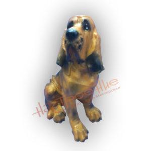 Форма для изготовления садовой фигуры собаки Бландхаунд