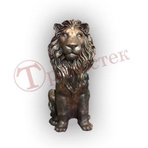 Форма силиконовая для парковой скульптуры лев