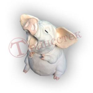 Форма силиконовая для изготовления копилки свинка соня.