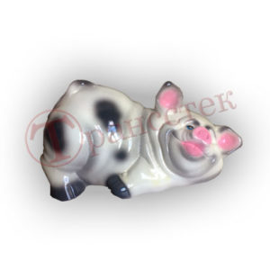 Форма силиконовая для изготовления копилки свинка в грязи