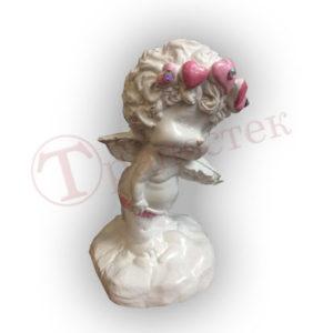 Форма для отливки гипсовой фигуры ангел со скрипкой