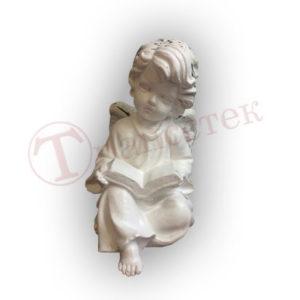 Фигура силиконовая для гипсовой фигуры ангел с книгой