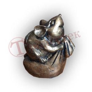 Форма силиконовая крыса на мешке