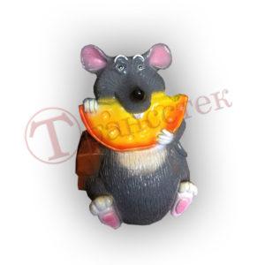 форма силиконовая крыса обжорка