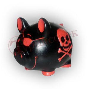 Форма для копилки пиратская свинья